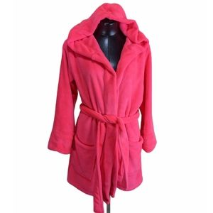 PINK by Victoria's Secret Short Hooded Robe XS